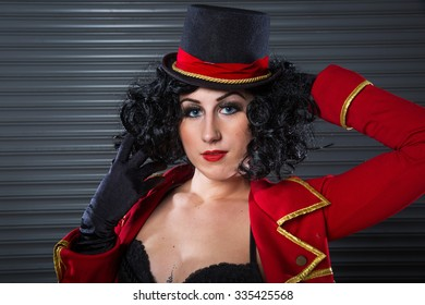 Sexy Circus Ringmaster Woman