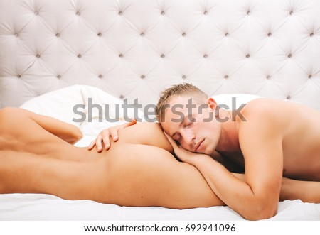 Man sleep sex