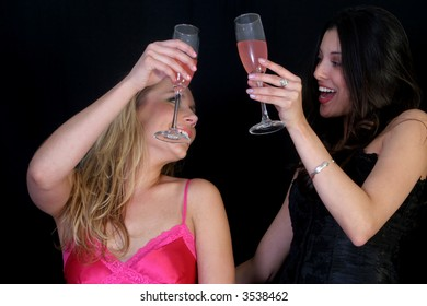 Sexy Diverse Party Girls