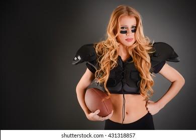 Sexy Football Girl