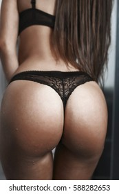 Sexy girl lingerie bouduire ass
