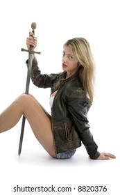 Royalty Free Sexy Girl Sword Images Stock Photos Vectors