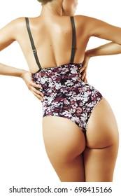 sexy girl in underwear, perfect figure