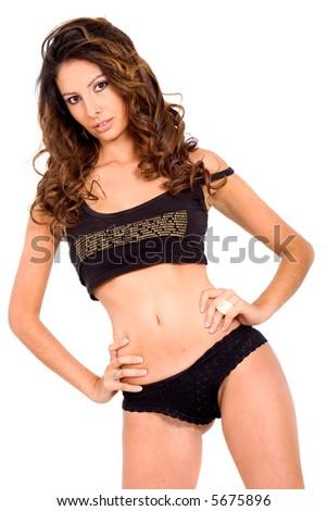 Girls wearing sexy underwear