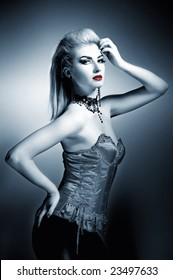 Sexy gothic picture