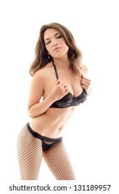 sexy hot woman in lingerie