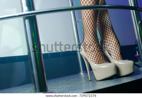 Sexy Legs Fetish High Heels Shoes Stock Photo Edit Now 729072376