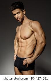 Sexy Male Model In Underwear