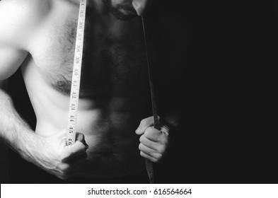 sexy man, meter, bodybuilder