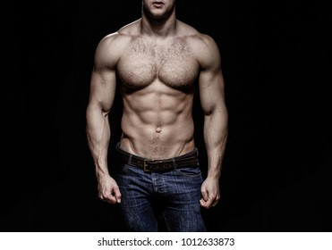 Sexy man, naked body, nude male. Strong mans, bodybuilder, muscular men. Sexy body, nude man, naked male, muscled. Athletic caucasian, ab, six pack, chest muscles, triceps. Beautiful male torso, ab.