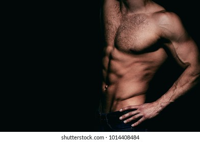 Sexy man, naked body, nude male. Strong mans, bodybuilder, muscular men. Sexy body, nude man, naked male, muscled. Athletic caucasian, ab, six pack, chest muscles, triceps. Beautiful male torso.