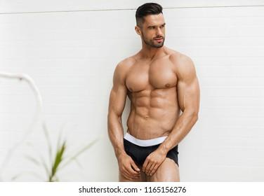 Sexy man in underwear
