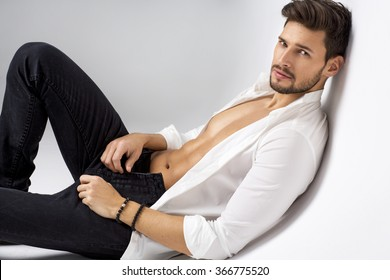 Sexy model posing