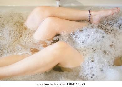 Lesbian Bathtub Images Stock Photos Vectors Shutterstock