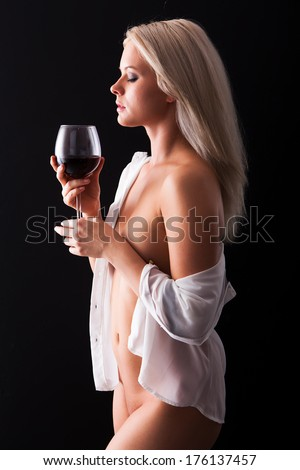 Goes! Certainly. wine naked nude woman