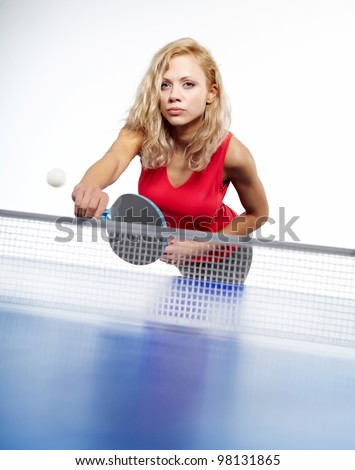 Sexy ping pong