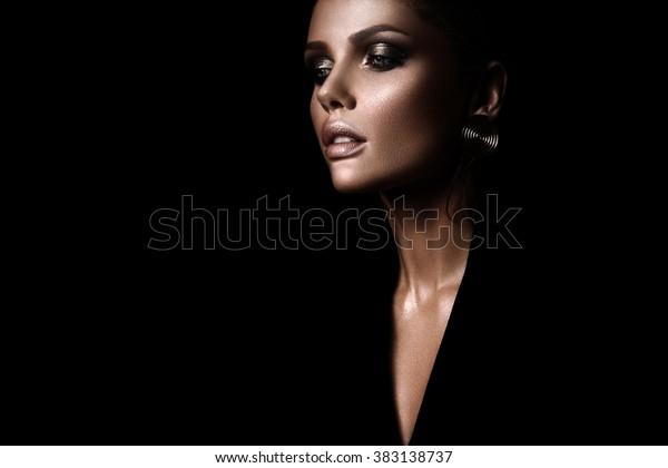 czarny seksowny wizerunek