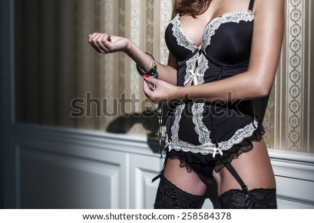 Think, that corset girl sexy tits very