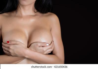 Sexy woman body - studio shot