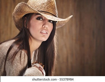 sexy woman with cowboy hat 81a26519e7d2