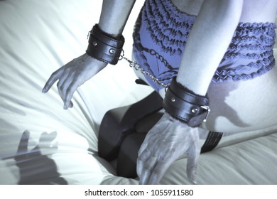 Erotic whipping demonstration the