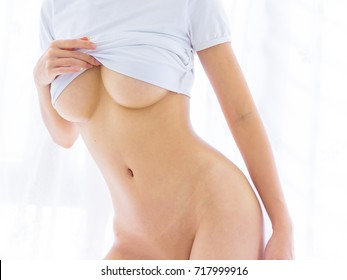 Sexy woman huge breast