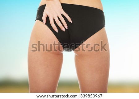 66533c2f1 Sexy Young Woman Back Panties Stock Photo (Edit Now) 339850967 ...