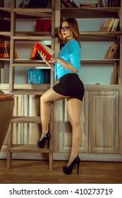 Sexy librarian pics