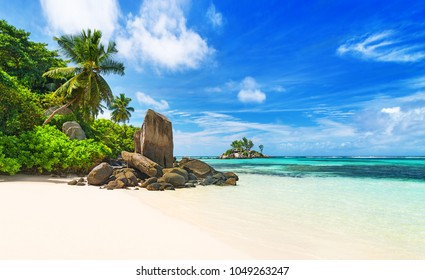 Seychelles, tropical beach
