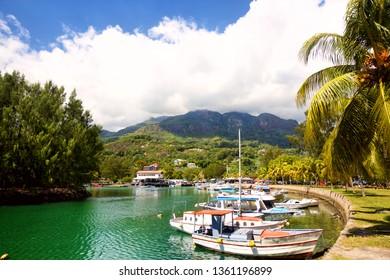 Seychelles Yacht Club and marina, Victoria, Mahe