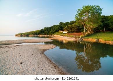 Seyrek river and beaches, Seyrek village, Kandira, Kocaeli, Turkey