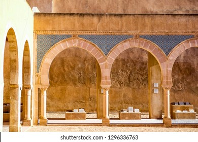 Sfax, Tunisia. January 2018. The kasbah in the old Town.