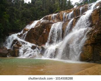 Sg Pandan Waterfall in Malaysia
