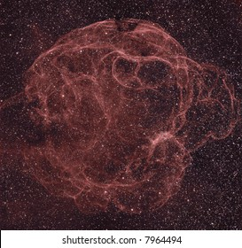 Sh2-240 / Simeis 147 supernova remnant in Taurus