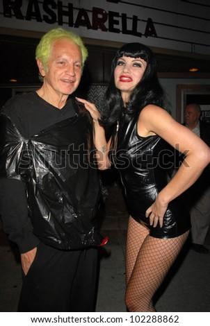 Sha And Rena Riffel At A Midnight Movie Screening Of Riffels Trasharella As