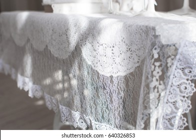 Shabby Chic Room Interior Wedding Decor Stock Photo Royalty Free