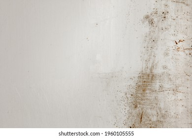 Shabby putty background. Vintage ancient background. Light shade textured old wall