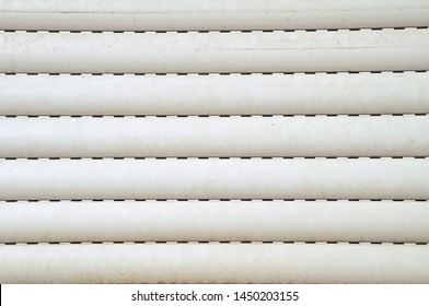 shabby roller shutter as background