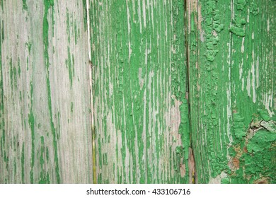 shabby wooden boards