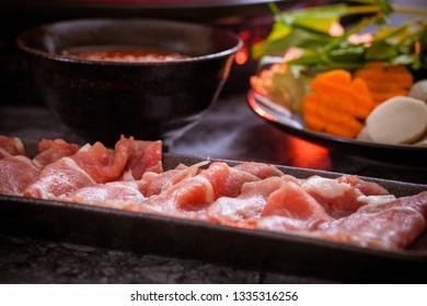 Shabu Shabu japanese cuisine
