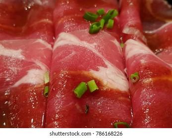 shabu meat slice