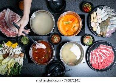 shabu shabu with soup