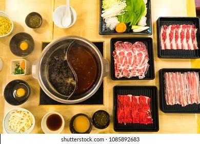 Shabu shabu suki tradition japan food
