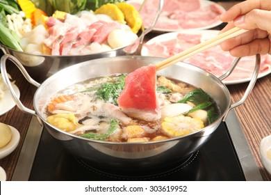 Shabu Shabu and Sukiyaki, Japanese food