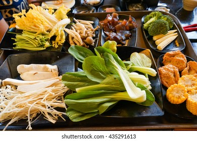 Shabu Shabu Vegetable Foods
