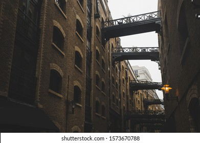 Shad Thames, street of london city, UK