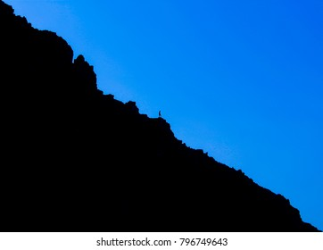 Shade of blue with lonliness