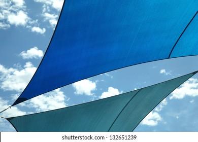 Shade Sail Color Blue