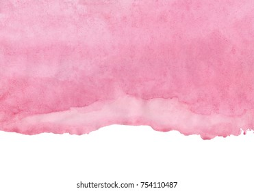 shades of pink watercolor, abstract artistic background