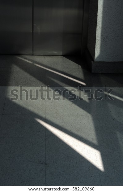 shadow and light in building